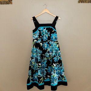 R & K beautiful floral dressy dress